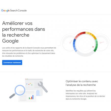 Description Google Search Console